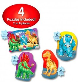 Learning Journey 4-In-A-Box Puzzles - Dino