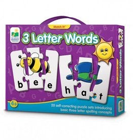 Learning Journey Match It! - 3 Letter Words
