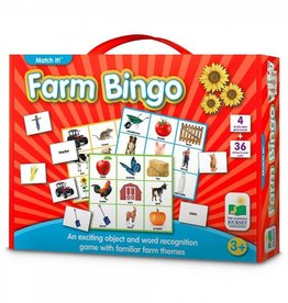 Learning Journey Match It! Listen & Play Farm Bingo