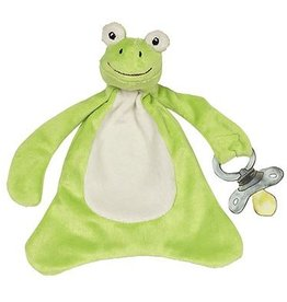 Maison Chic Freckles the Frog Pacifier Blankie