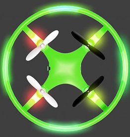 Mindscope Sky Lighter Disc Drone-Green