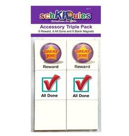 Schkidules Accessory Triple Pack