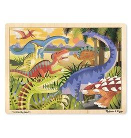 Melissa & Doug Dinosaur Wooden Jigsaw Puzzle