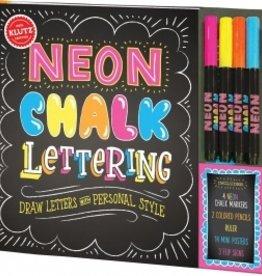 Klutz CR-KZ-Neon Chalk Lettering