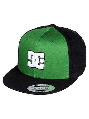 DC DC Boys Snappy Hat Spectra Green