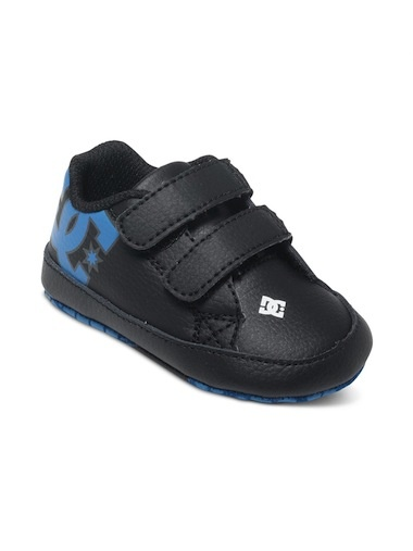 DC DC Court Graffik Infant Crib Shoe