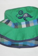 Calikids Calikids Boys Reversible Summer Hat with Velcro Chin Strap