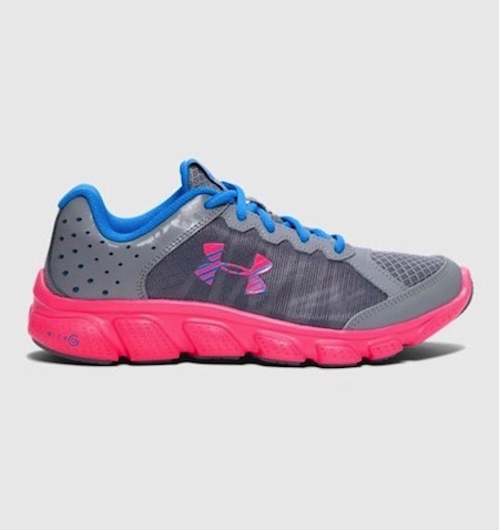 youth girls under armour shoes