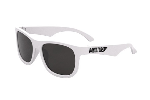 Babiators Babiators Navigator Sunglasses White 0-2yrs