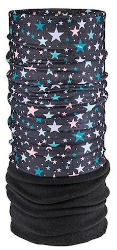 Bula Bula Kids MicroFleece Fury Tube Star Black