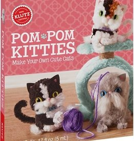 Klutz CR-KZ-POM POM KITTIES