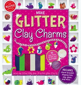 Klutz CR-KZ-Glitter Clay Charms