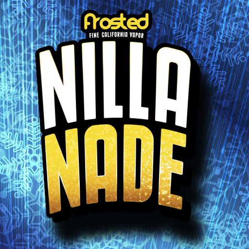 Trill Vapor Supply Frosted Nilla Nade by Trill Vapor Supply