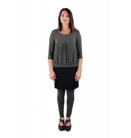 Lousje & Bean Leggings in Grey & Black