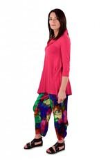 L&B- Emmy Tie Pants- Multi Print