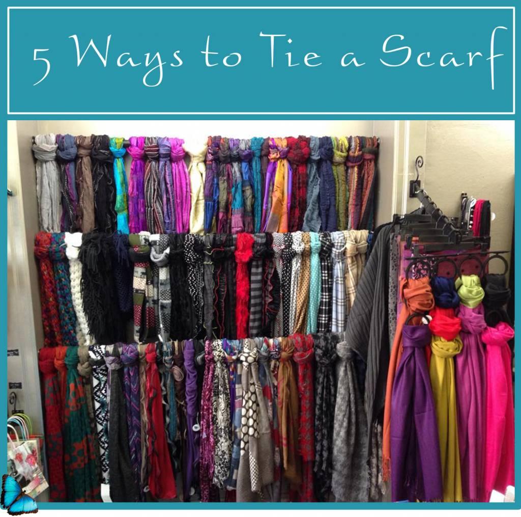 5 Ways to Tie a Scarf