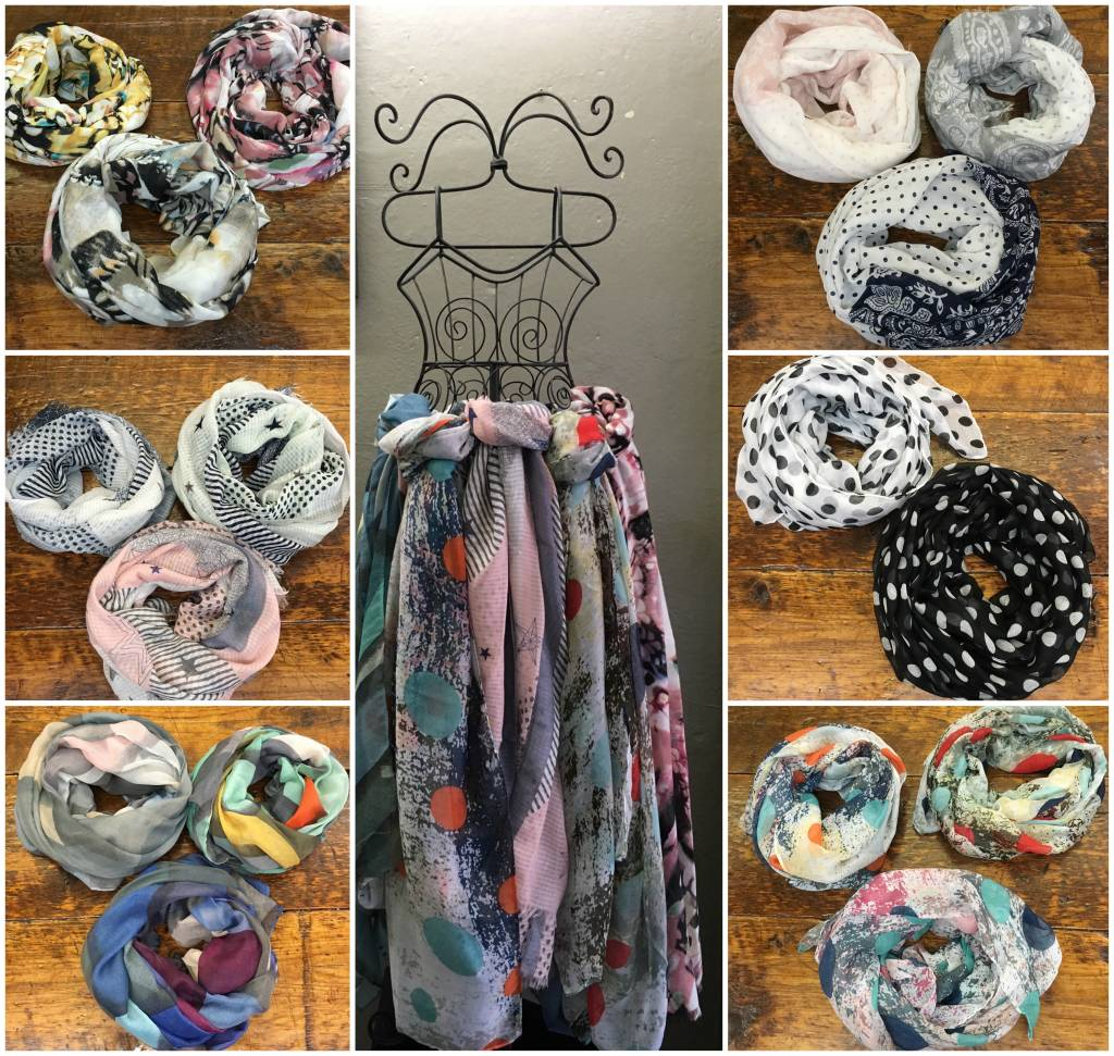 Spring Scarves are here!