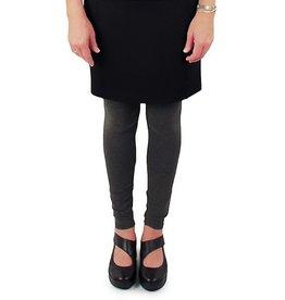 Lousje & Bean Ponte Mini Skirt in Black