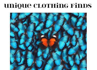 UNIQUE CLOTHING FINDS!