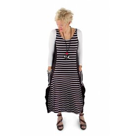 Issey Dress in Stripes- XS only