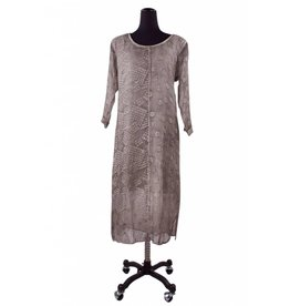 Grizas- Patterned Silk Dress-M only