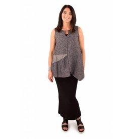 Nyah- Reversible Linen Tunic