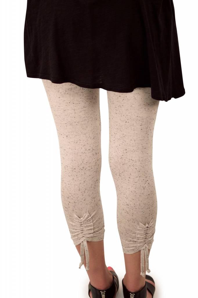 Lousje & Bean L&B- Crunch Legging Cream Speck