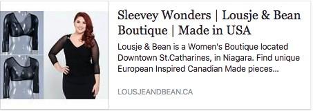Sleevey Wonders Love note