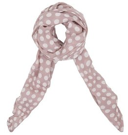 Lillywhite Cotton Pink Dot Scarf