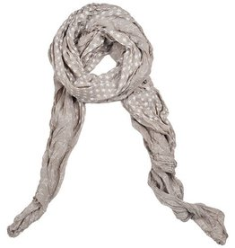 Lillywhite Cotton Khaki Star Scarf