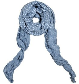 Lillywhite Cotton Denim Star Scarf