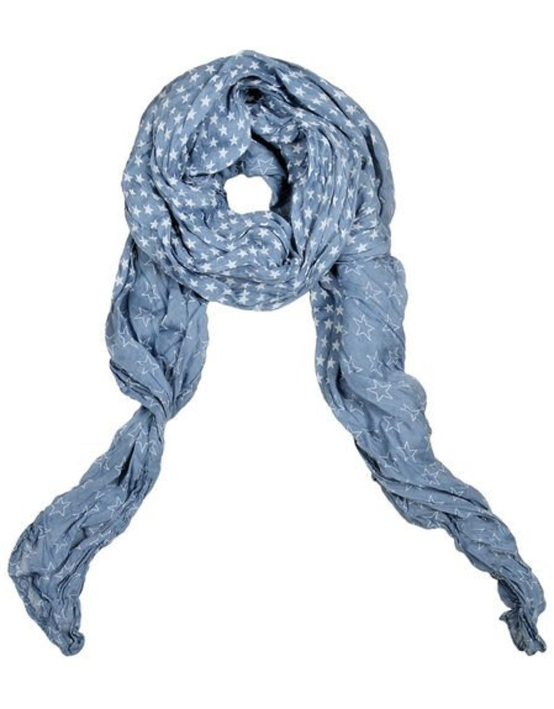 Lillywhite Lillywhite Denim Star Scarf
