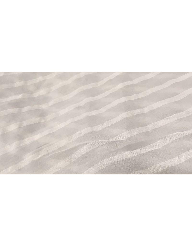 Lillywhite Lillywhite Grey Stripe Scarf