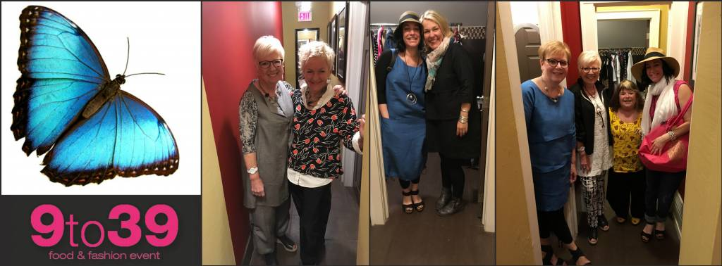 Backroom Pic's from Fashion Show