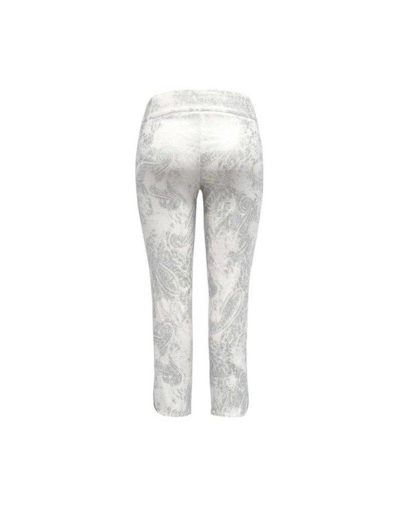 Up Up Pants- Silver Petal Capris