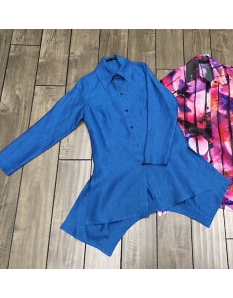 L&B- The Shirt in Azure Blue