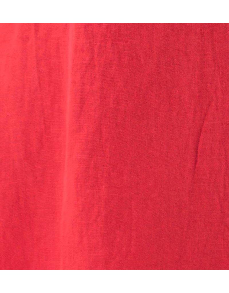 Cut Loose- Hanky Linen Dress- Sunset