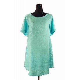 Hanky Linen Dress-Oasis