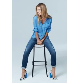 Up Up Jeans- Distressed Denim