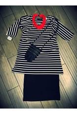 L&B- Sofia Dress Stripes