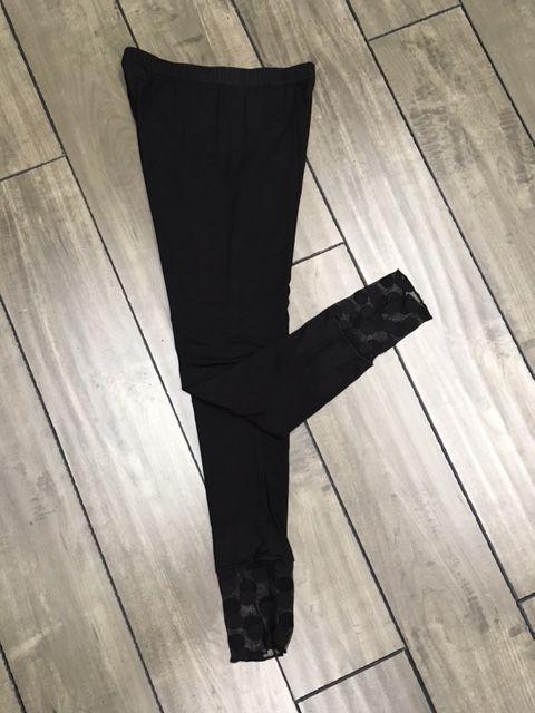 Lousje & Bean L&B Dot Mesh Leggings in Blk