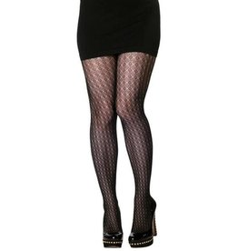 C'est Moi C'est Moi- Diamond Pattern Tights