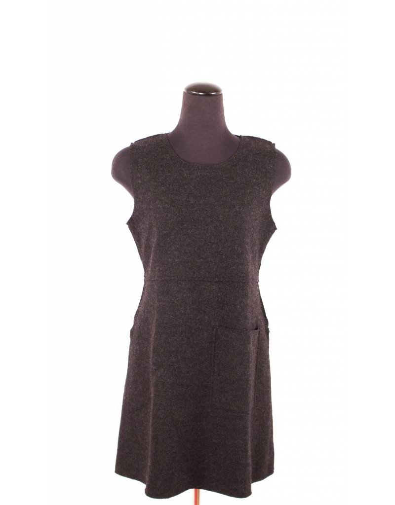 Cut Loose Cut Loose|Slit Tunic|Wool|Charcoal
