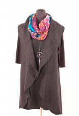 Cut Loose Cut Loose|Waterfall Vest|Charcoal