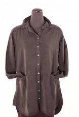 Cut Loose Cut Loose|Tencel Shirt Tunic|Blk