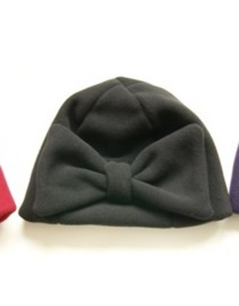 Boris Boris- Bow Hat in Blk