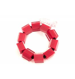 Zsiska ZSISKA- Cube Brac in Red