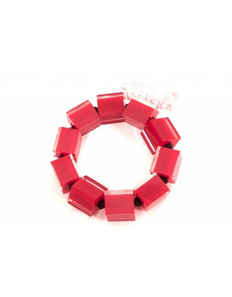 Zsiska ZSISKA- Cube Brac in Red