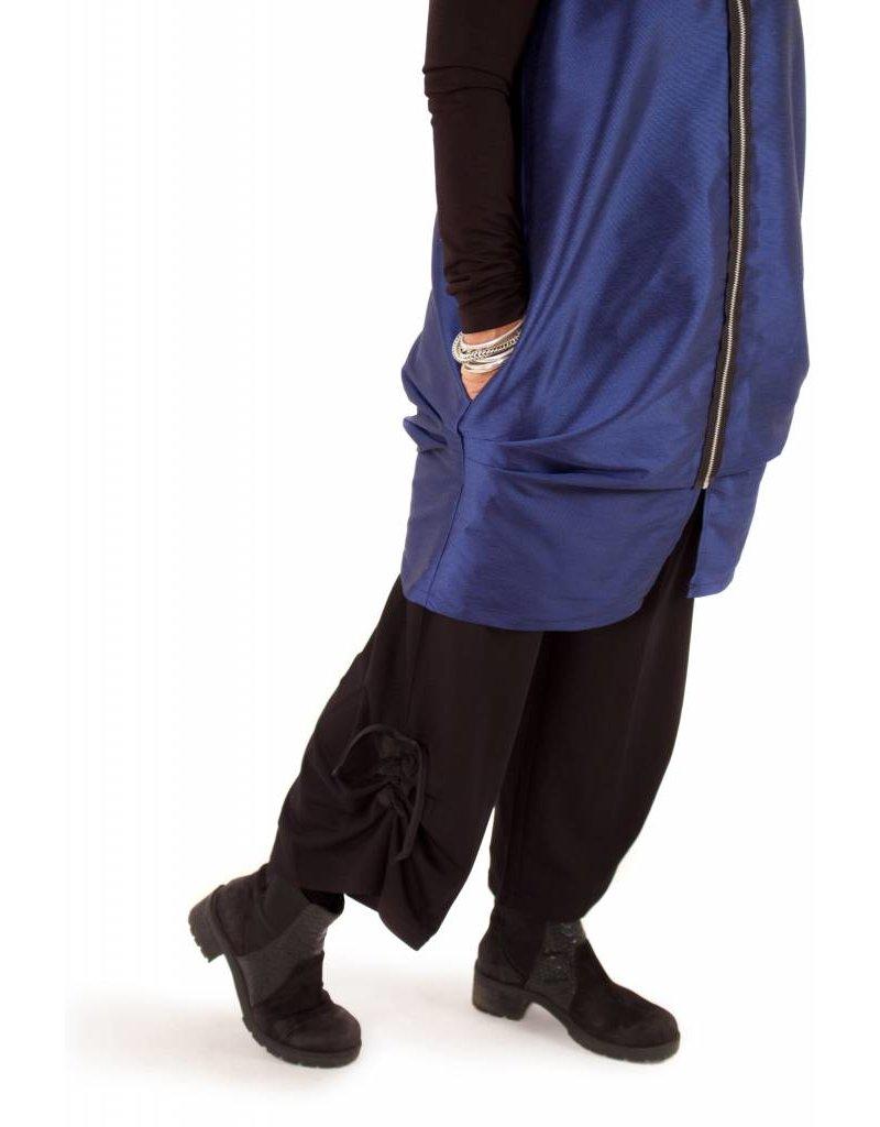Lousje & Bean L&B- Emmy Tie Pants Bamboo|BLK
