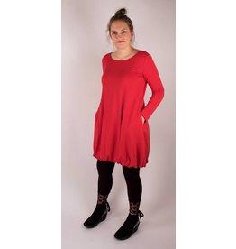 Lousje & Bean Rome Dress in Red